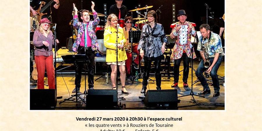 """Spectacle Ramon et les Cigales """"FLAGRANT DELIRE"""" vendredi 27 mars 2020 - Comité des fêtes Saint Antoine du Rocher"""