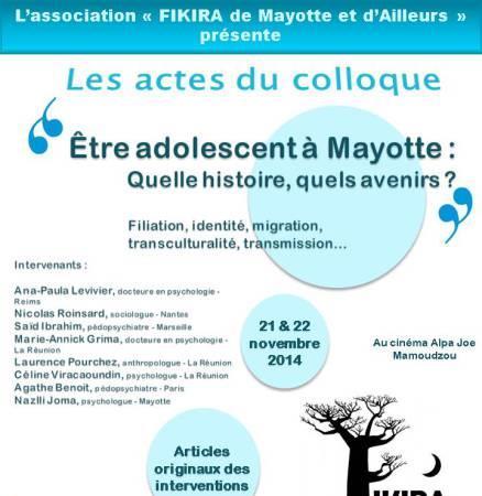 Actes du colloque 2014 - Fikira de Mayotte et d'ailleurs