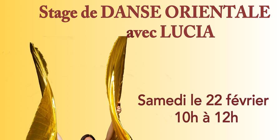 Initiation en danse orientale avec Lucia Saint-Brès - Danse La Vie Saint-Brès