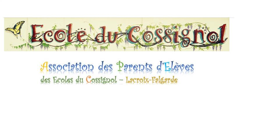 REPAS FETE DES ECOLES - APEC (Association des Parents d'Elèves des écoles du Cossignol)