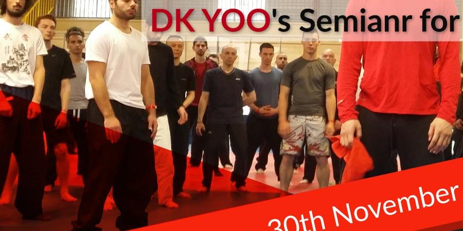 Stage 4 jours DK YOO / 4 days seminar with DK YOO - global systema 21