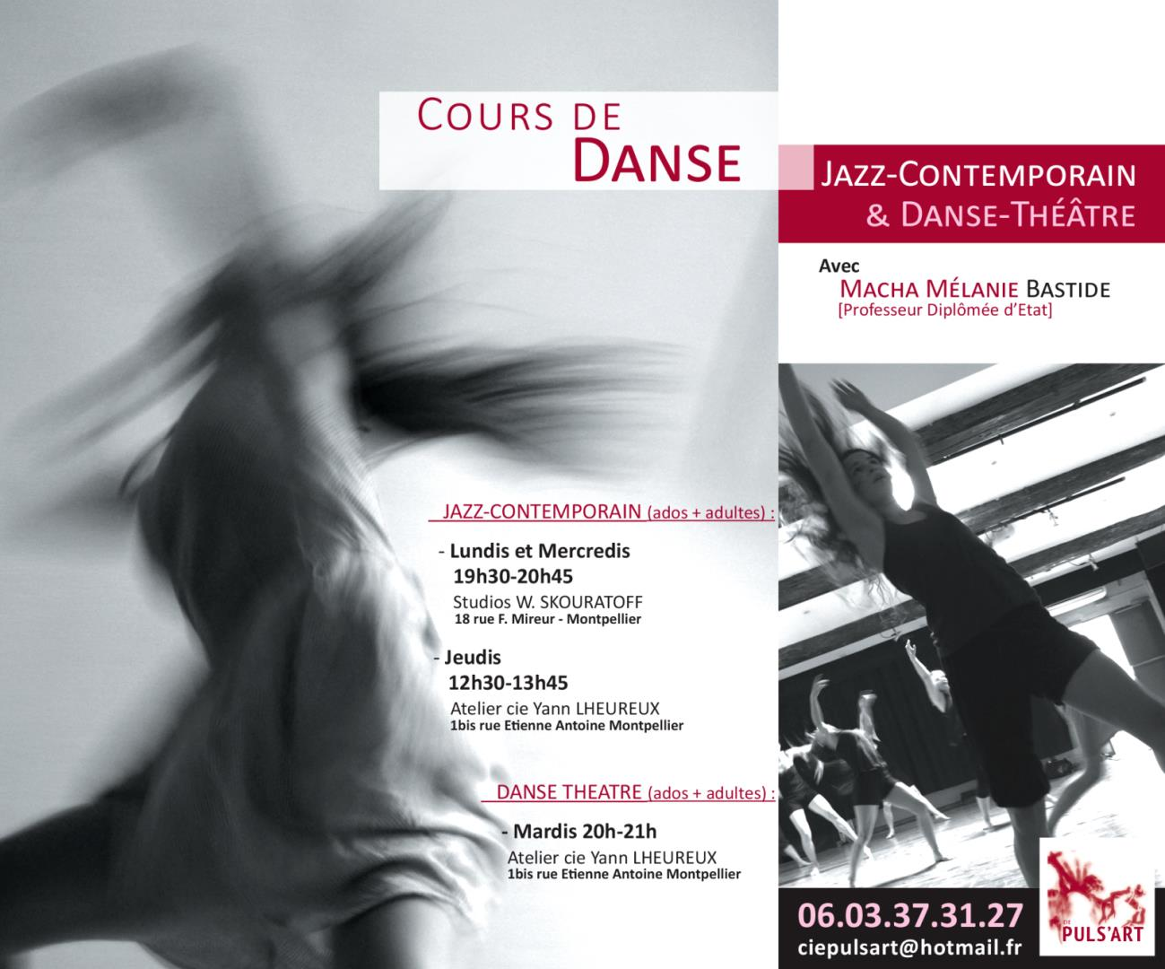JAZZ-CONTEMPORAIN & DANSE-THEATRE - Cie Puls'Art