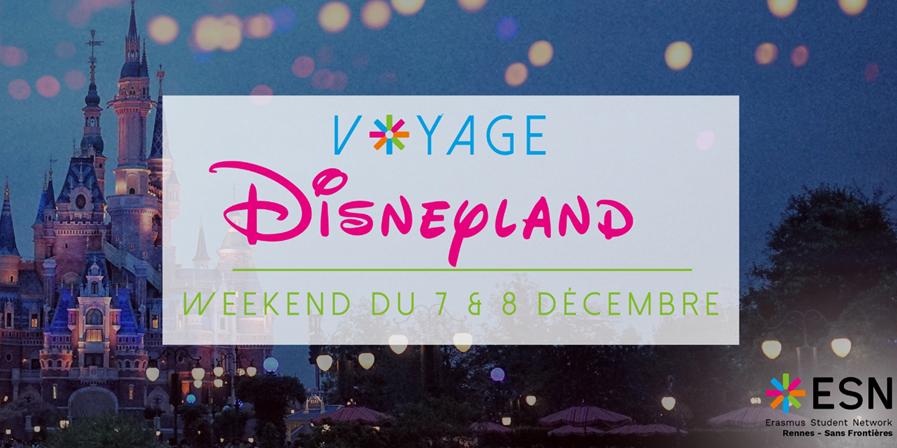 Disneyland Paris  - ESN Rennes