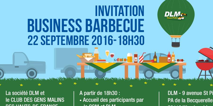 INVITATION AU BUSINESS BARBECUE  - Club des Gens Malins
