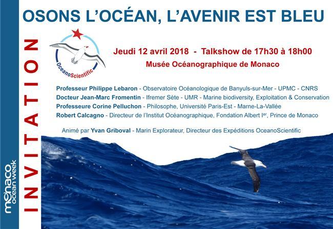 OSONS L'OCÉAN, L'AVENIR EST BLEU - OceanoScientific