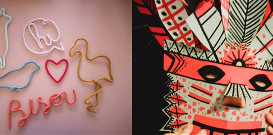 """Atelier DIY Tricotin + Atelier Masque """"Comme un Apache!"""" - Peanuts"""