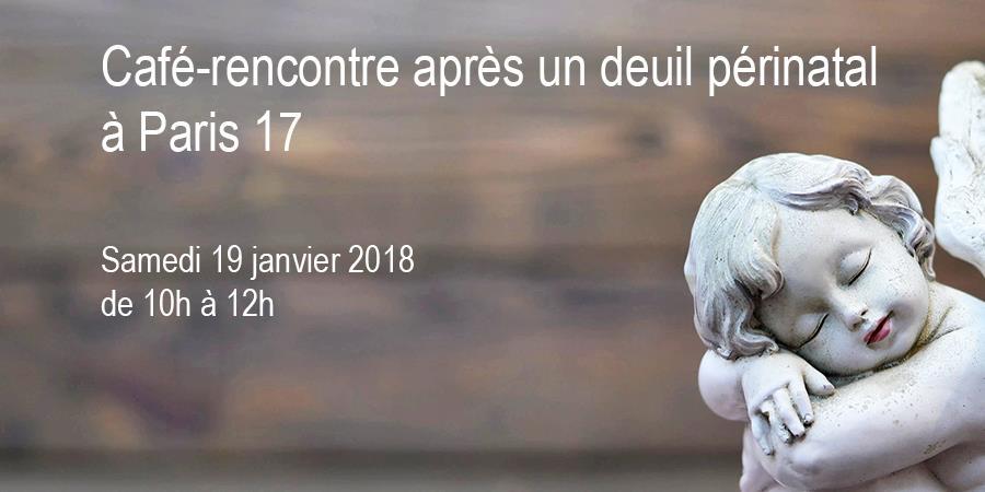 Café-rencontre après un deuil périnatal à Paris - Agapa