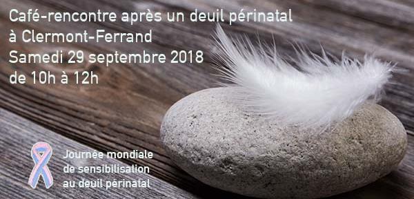 Clermont-Ferrand - samedi 29 septembre - Café-rencontre après un deuil périnatal - Agapa