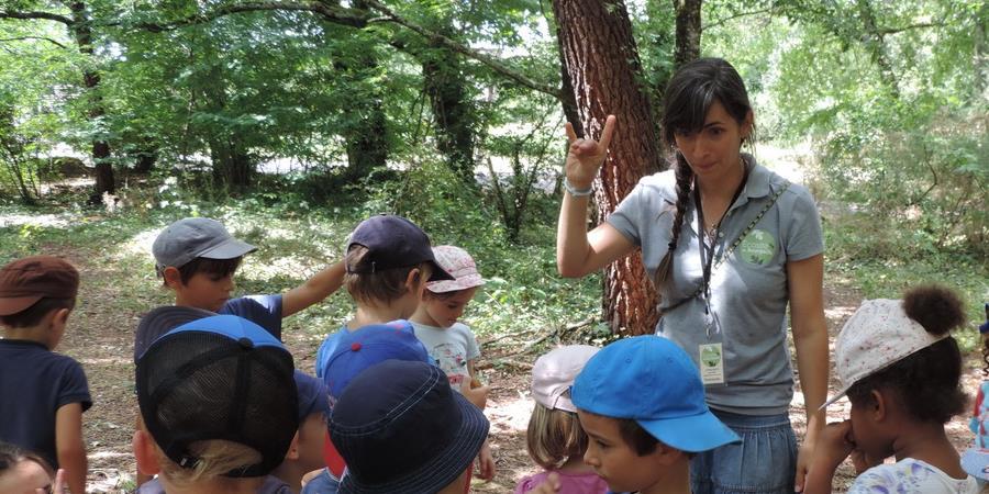 Les petits aventuriers de la nature - 24 juillet - 7 à 10 ans - Association Ecosite du Bourgailh