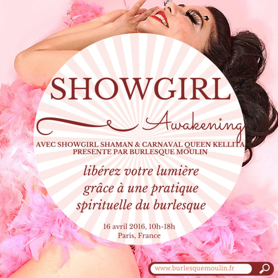 Showgirl Awakening - Burlesque Moulin