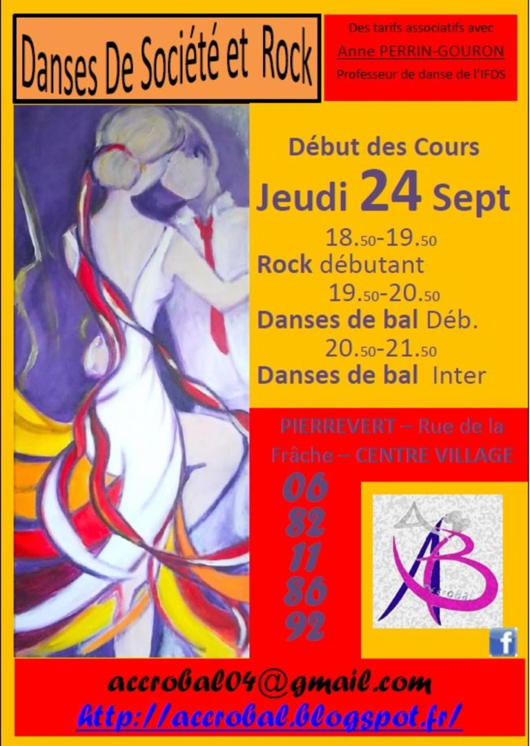 ROCK et Danses de Bal - Association AccroBal