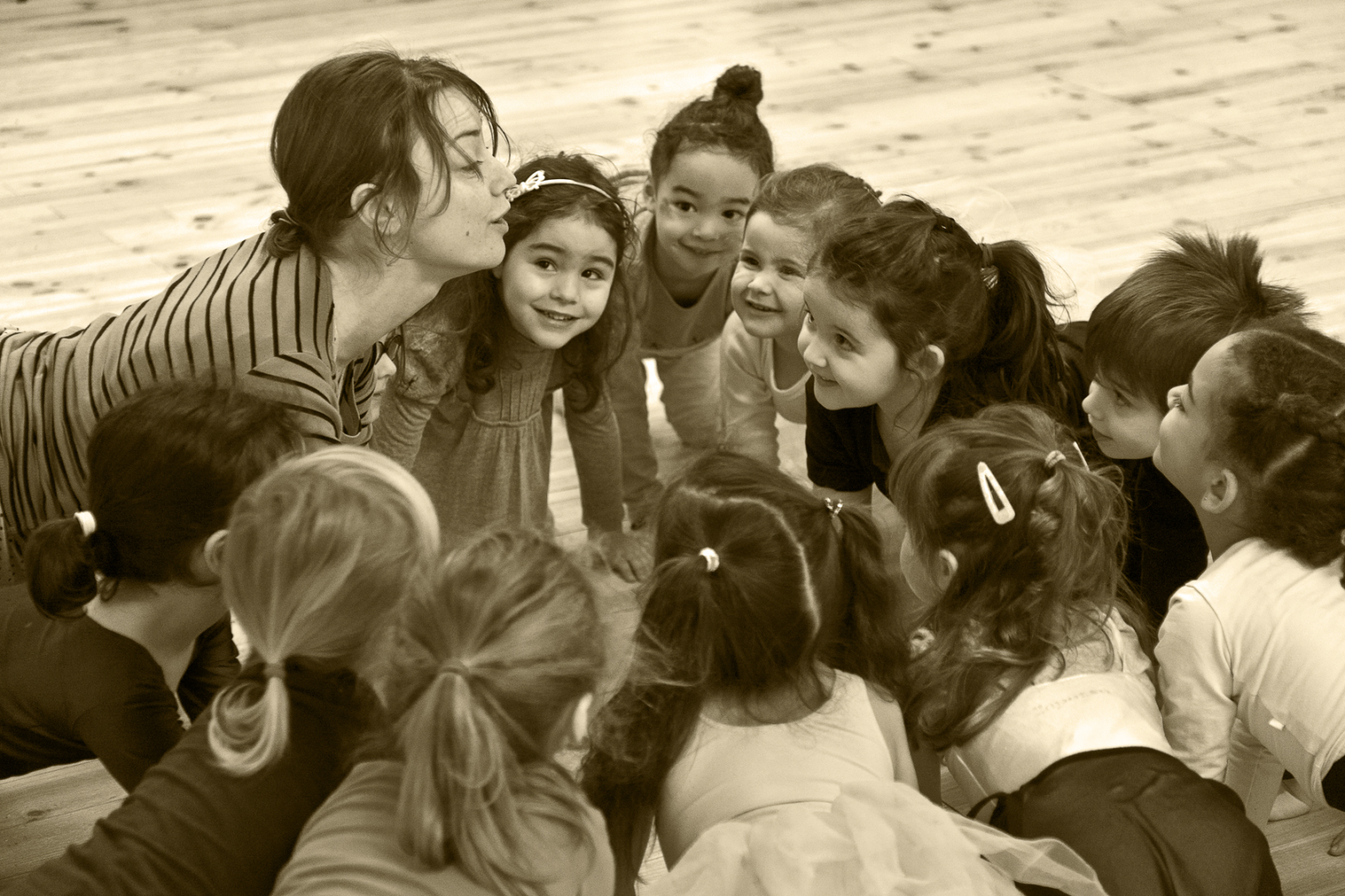 Eveil Corporel danse 4-6 ans mercredi après-midi - Association Bagas Héritage