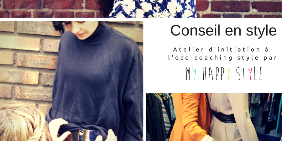 After-work éco-coaching style chez Hylla Penderie Partagée - My Happy Style