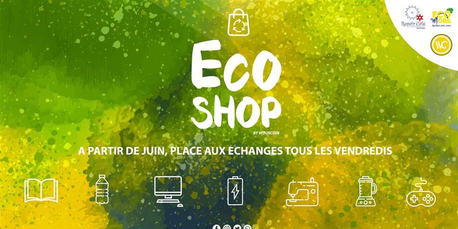 ECO SHOP By Wouscoin - Projet Wouschain