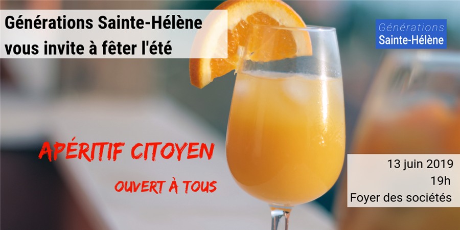 Générations Sainte-Hélène vous invite à fêter l'été - Générations Sainte-Hélène