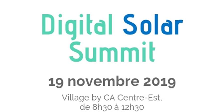 Digital Solar Summit 2019 - AuRA Digital Solaire
