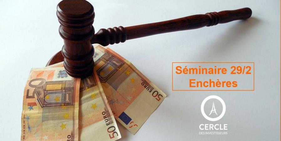 Séminaire Crypto, trading, BA et enchères - Cercle Immobilier