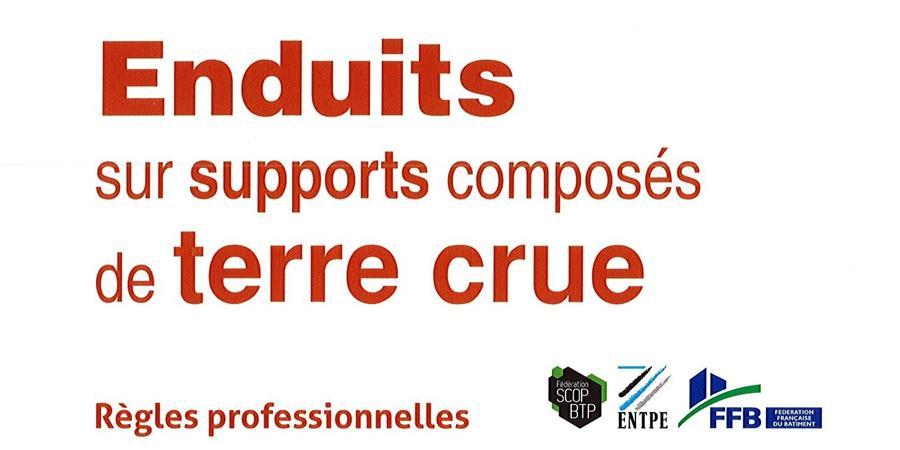 Enduits sur supports composés de terre crue - Tiez Breiz - Maisons et Paysages de Bretagne