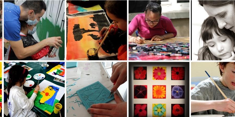 Ateliers hebdomadaires Enfants Adutes - Les arts des villes les arts des champs