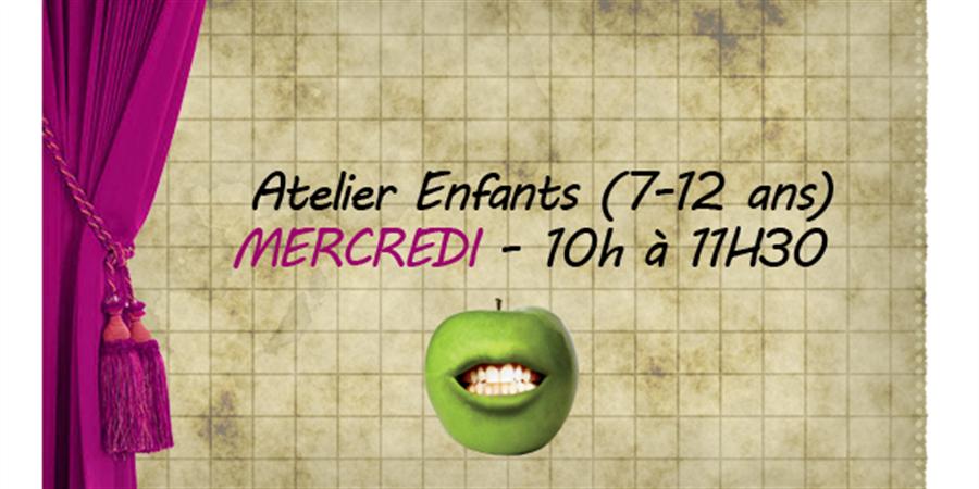Atelier théâtre et saynètes - 7/12 ans - Mercredi 10h à 11h30 - Crocs en scène