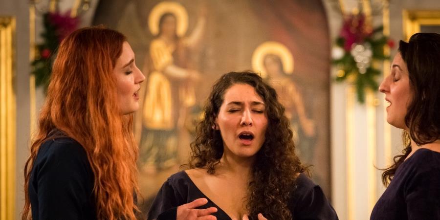 Ensemble Irini - Festival De Vives Voix # 14 à l'Eglise St Pierre et St Paul - Les Voies du Chant