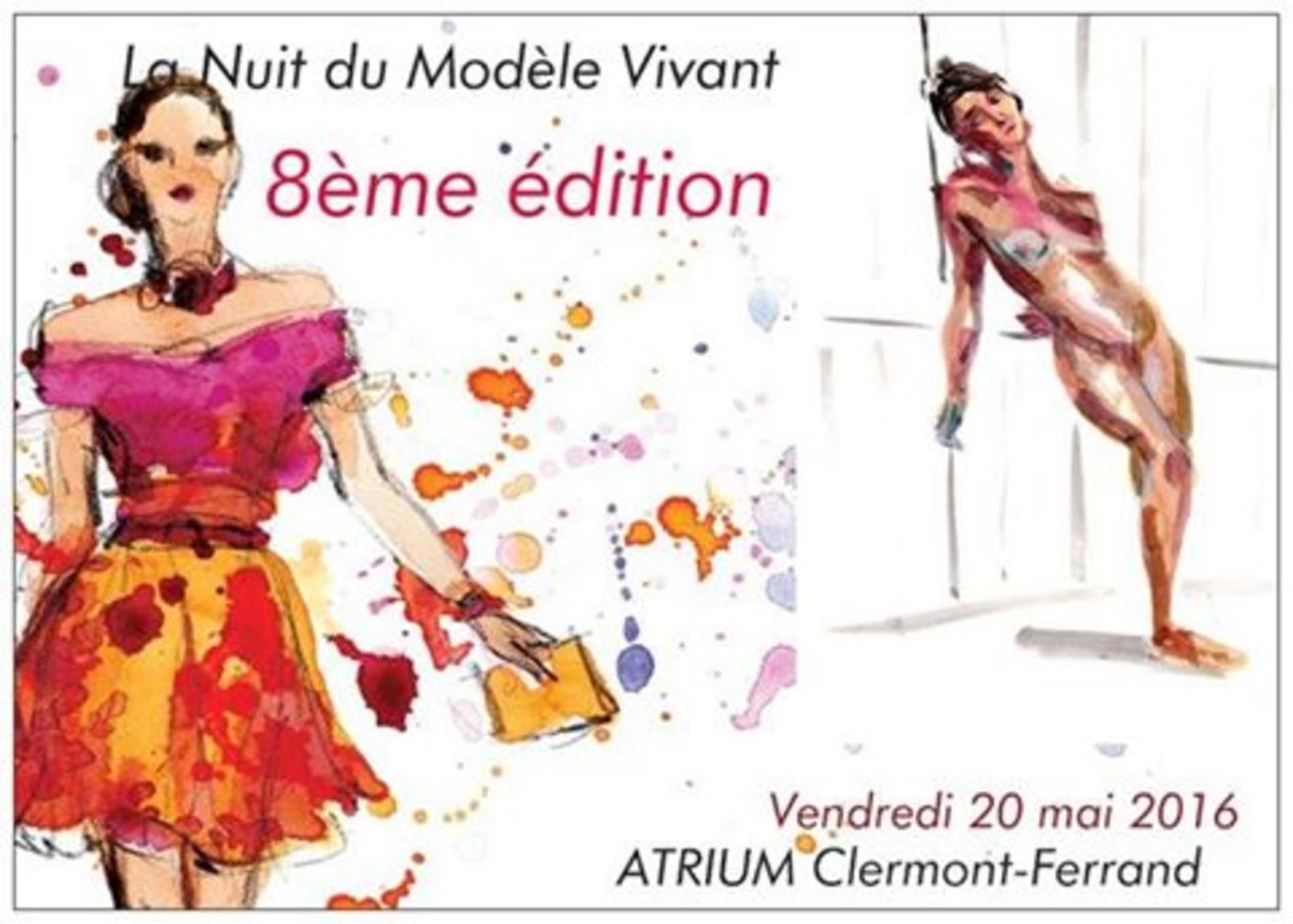 8 ème Nuit du modèle vivant - La Nuit du Modèle Vivant