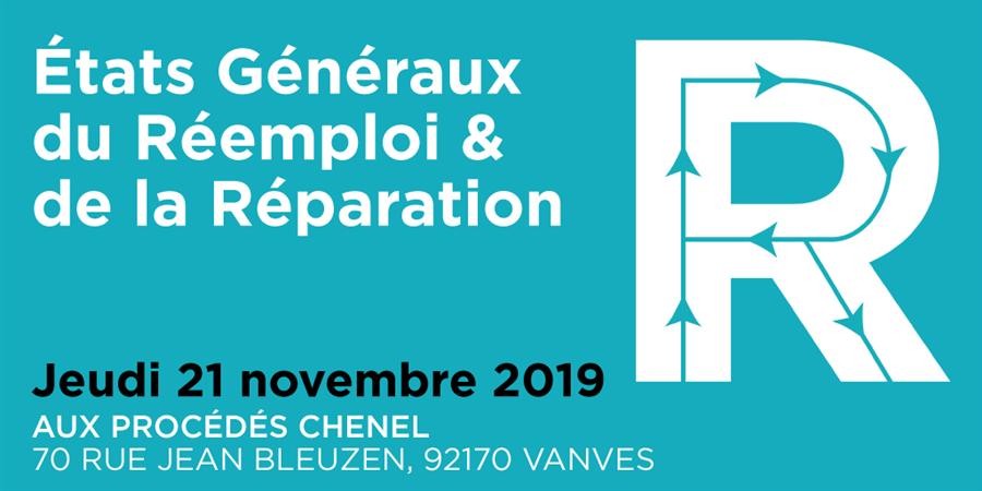 Les Etats Généraux du Réemploi & de la Réparation - RCube.org