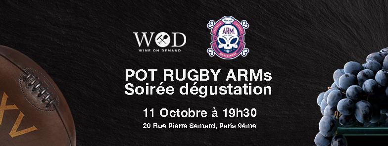 Dégustation chez Wine on Demand - Audencia Rugby Management