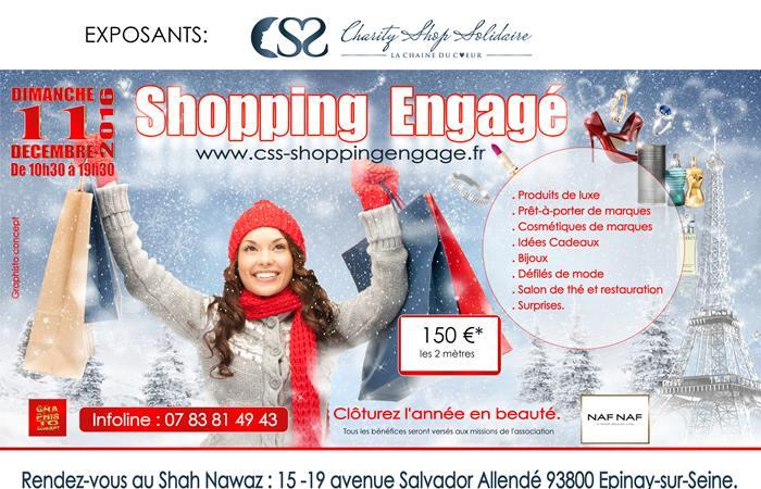Shopping Engagé - Partenaires / Exposants - Charity Shop Solidaire