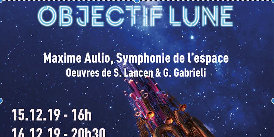 Concert Objectif Lune! Dimanche 15 décembre - CHORUS14