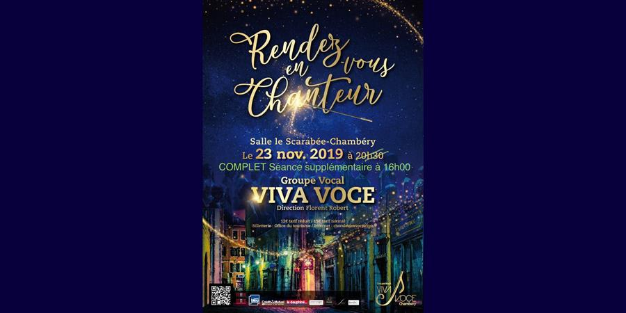 Viva Voce : Rendez-Vous en chanteur ! - Groupe vocal VIVA VOCE
