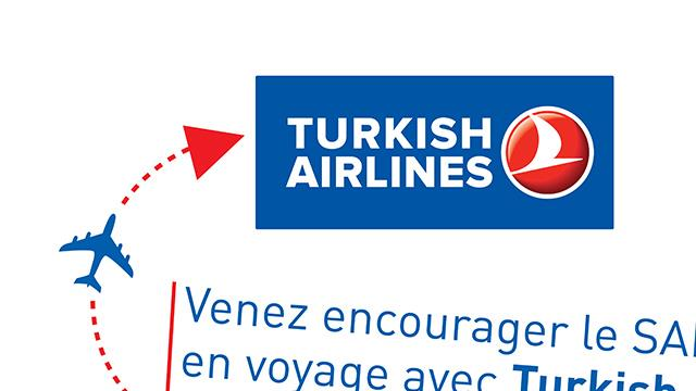 Tombola Turkish Airlines de la Coupe d'Europe Eurohockey du 22 au 25 mai 2015 - SAM Omnisports Section Hockey