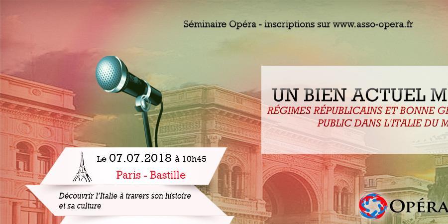 Conférence Opéra - OPÉRA