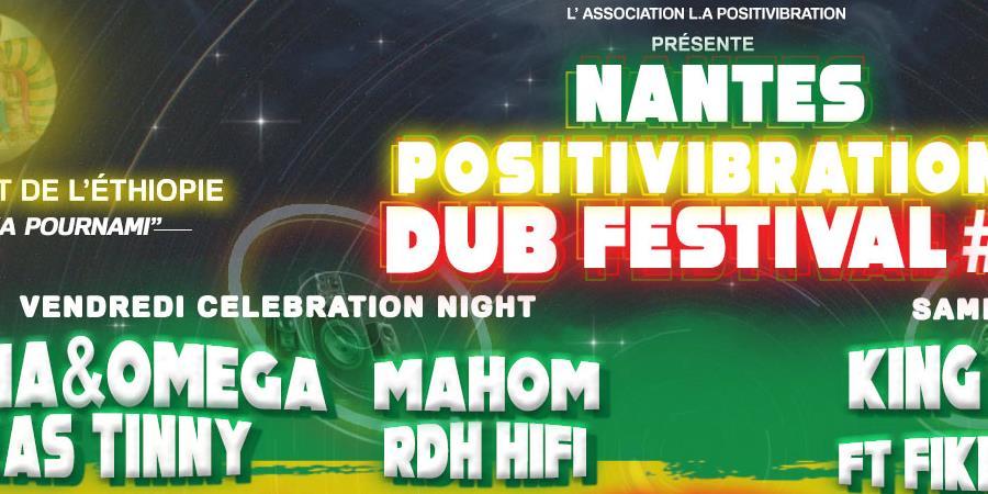 Nantes Positivibration Dub Festival #1 - L.A. Positivibration avec l'Ethiopie