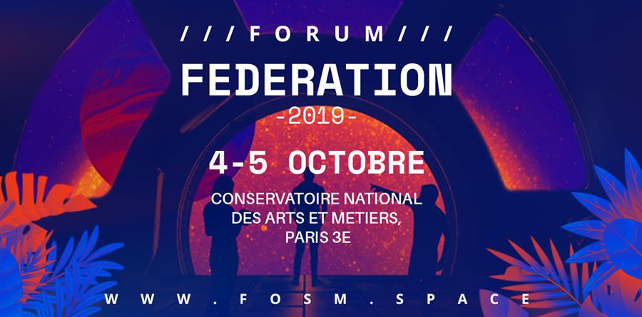 Lancement Jardin - Forum Fédération 2019 - Open Space Makers