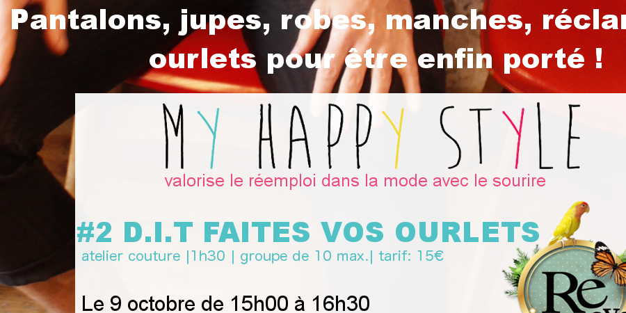 D.I.T FAITES VOS OURLETS - My Happy Style