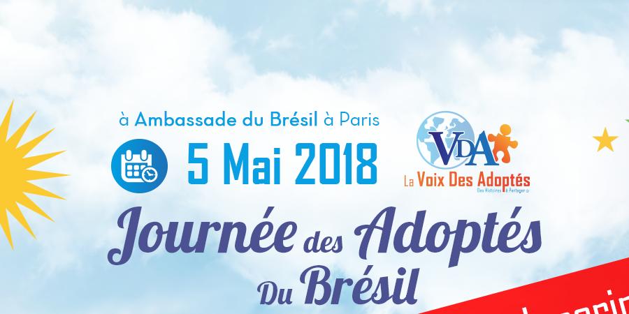 Journée des Adoptés du Brésil - La Voix des Adoptés