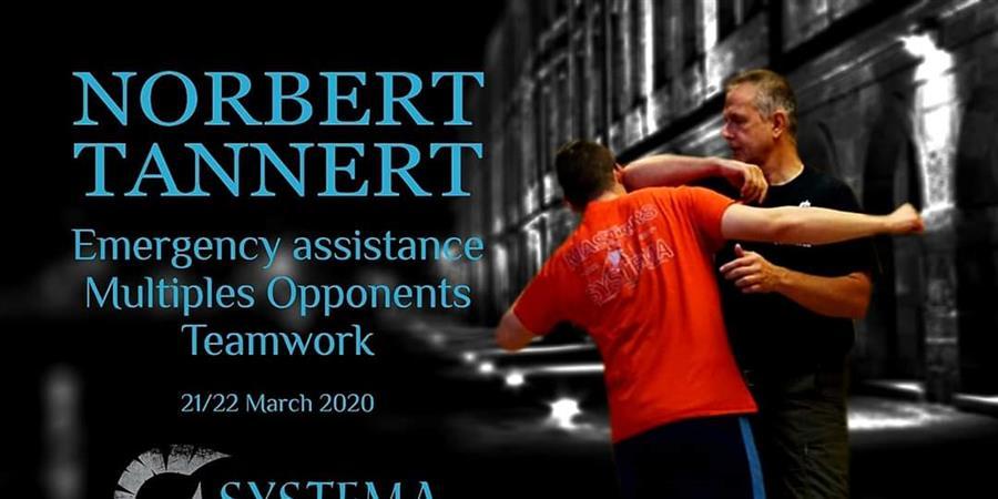 """Systema Norbert Tannert """"Tactical Response"""" - Association Systema Besançon, Art martial et art de bien-être russe"""