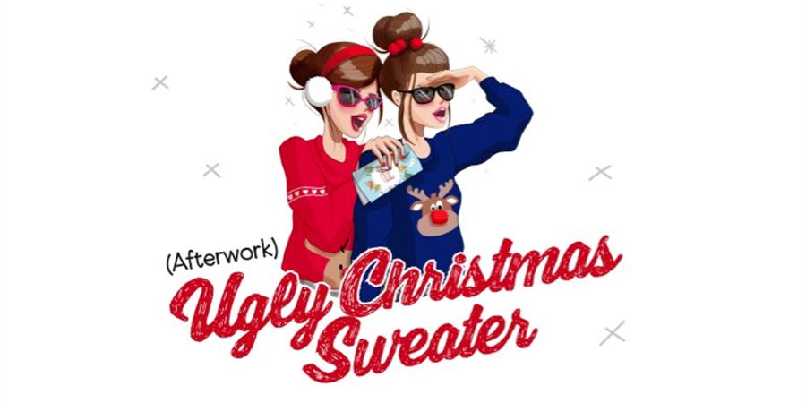 Afterwork Ugly Christmas Sweater - Les poulettes du désert