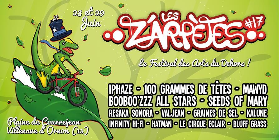 Festival Les Z'Arpètes #17 - Les Z'Arpètes