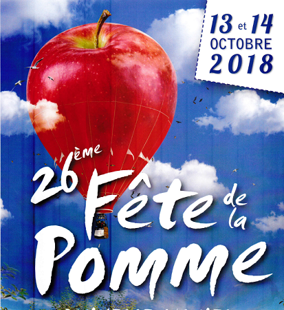 Dîner du samedi 13 Octobre 2018 - LA POMME EN FÊTE
