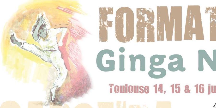 Stage de capoeira et Formatura chez Ginga Nago Toulouse - Ginga Nago So