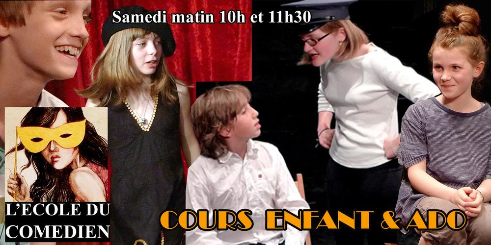 Cours Théâtre et Cinéma Enfant Ado - L'école du Comédien