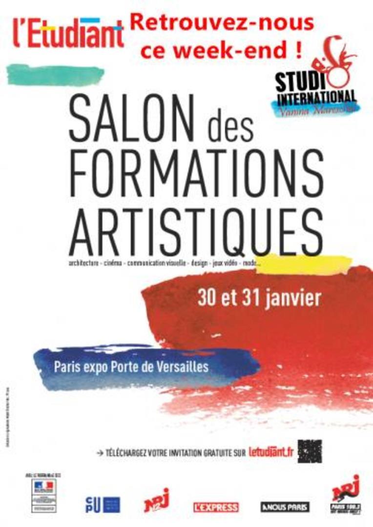 Participation au Salon des Formations Artistiques  - STUDIO International Vanina Mareschal
