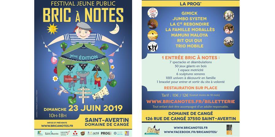 Festival Jeune Public Bric A Notes ~ Dimanche 23 Juin 2019 - Association Bric A Notes