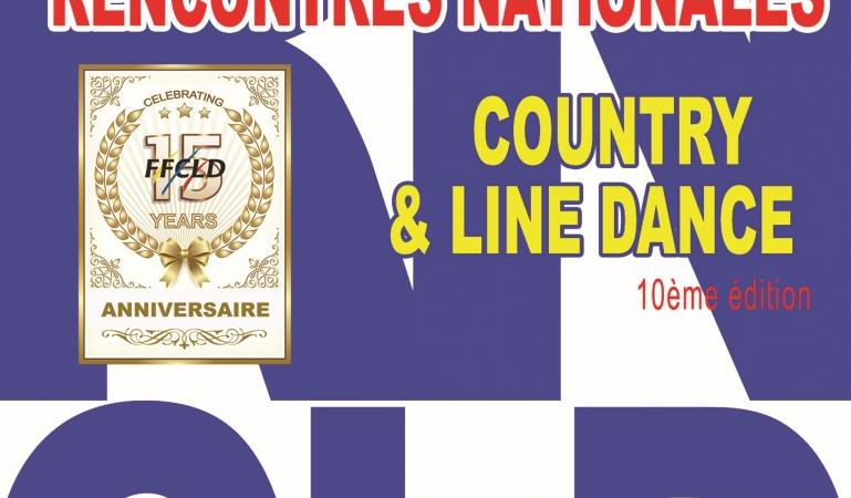 10èmes RENCONTRES NATIONALES COUNTRY & LINE DANCE 2019  - FEDERATION FRANCOPHONE DE COUNTRY DANCE ET LINE DANCE