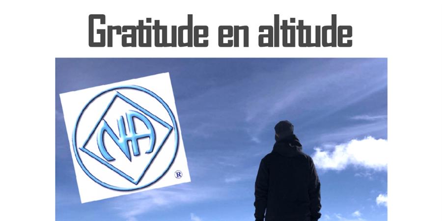 Gratitude en altitude  - Narcotiques anonymes