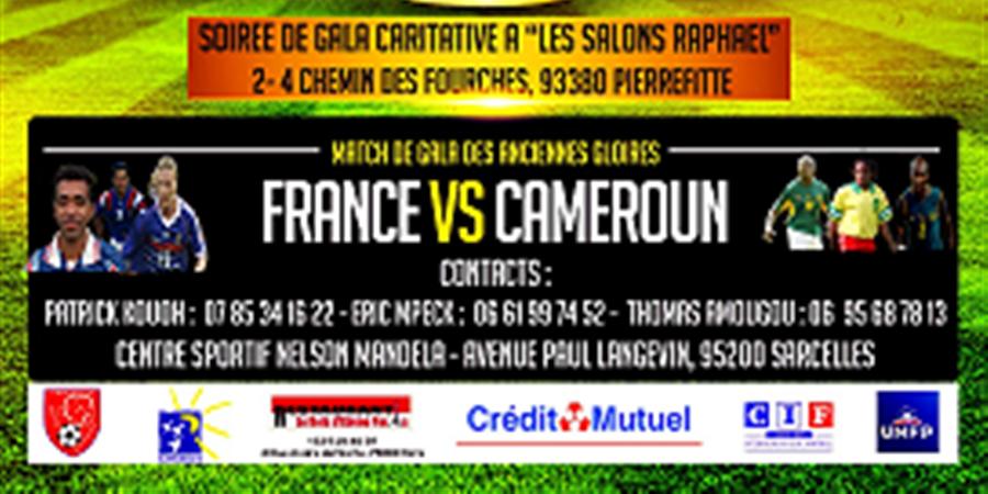 Soirée de gala caritative  '' Les gestes qui sauvent''  - Sarcelles Santé Football