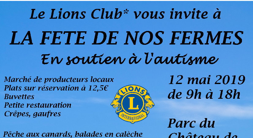 Fête de nos Fermes - Lions Club Thionville Portes de France