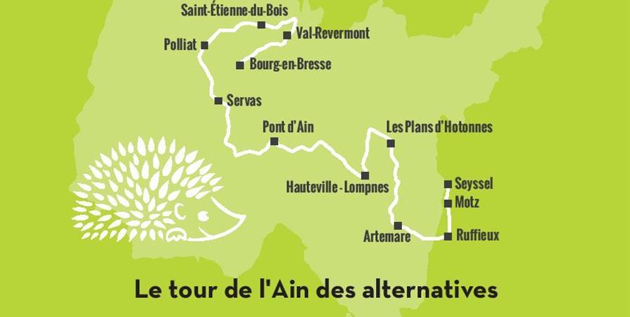 L'AlterTour de l'Ain - 2ème edition - FRAPNA Ain